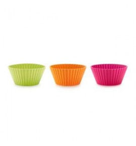 Lekue silicone moulds muffins 12 PCs.