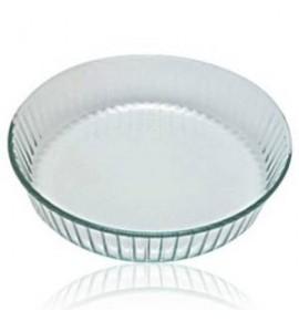 Molde para repostería vidrio ondulado 26 cm PYREX