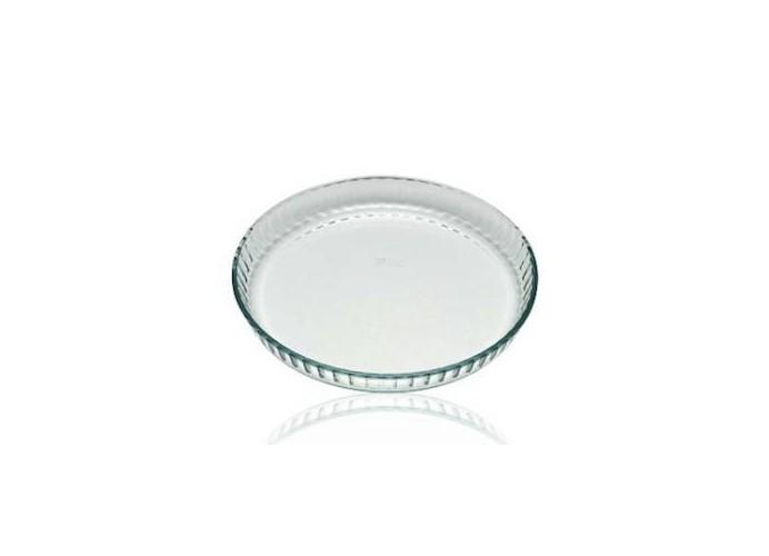 Molde para repostería vidrio tarta plano 30 cm PYREX