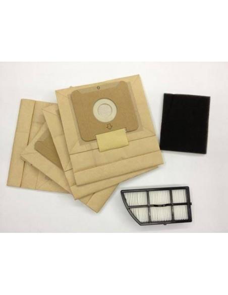 Imagen de Set bolsas y filtro Epa Ufesa AS2318 AS2320 recambio